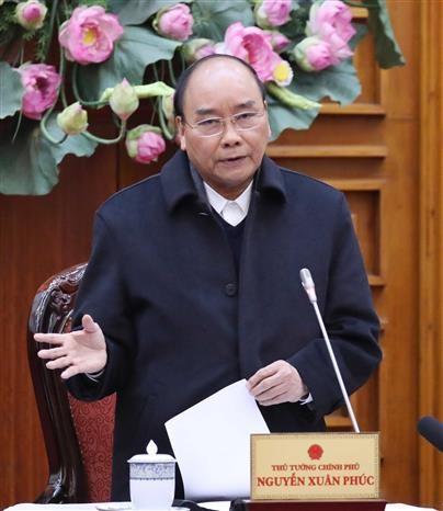 政府总理阮春福:立刻采取措施 最大限度减少新型冠状病毒感染肺炎疫情对经济产生的影响 hinh anh 1