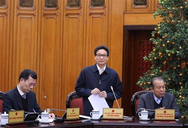 政府总理阮春福:立刻采取措施 最大限度减少新型冠状病毒感染肺炎疫情对经济产生的影响 hinh anh 2