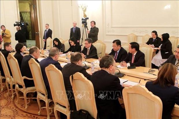 促进俄罗斯与东盟的战略伙伴关系 hinh anh 1