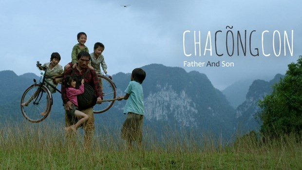 越南电影《父亲背儿子》在沙特阿拉伯上映 hinh anh 1