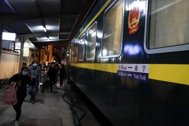 谅山省暂停国际联运列车客运服务 hinh anh 1