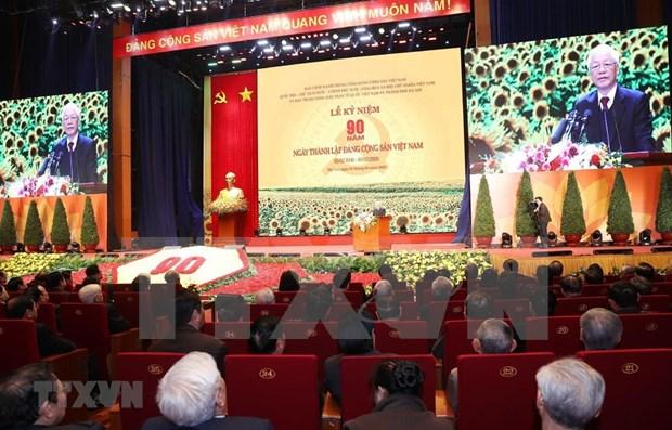 建党90周年:越南共产党与人民赋予的重大使命 hinh anh 1