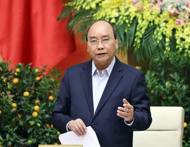 政府总理阮春福:多措并举降低新冠肺炎疫情对经济发展的影响 hinh anh 1