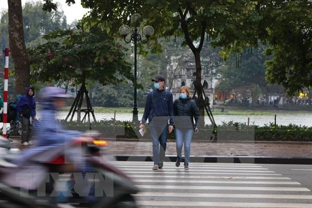 6日越南北部和中部出现毛雨和大雾天气 局部地区出现极寒天气 hinh anh 1
