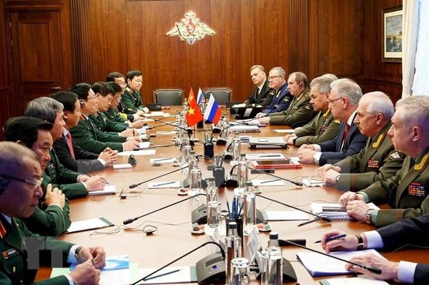 越南与俄罗斯加强合作 为地区和平与稳定做出努力 hinh anh 2