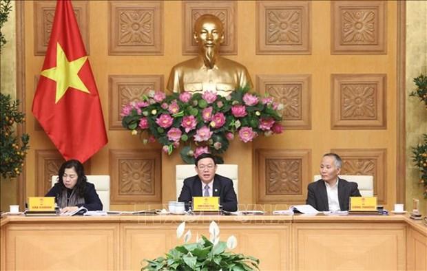 政府副总理王廷惠:在应对新冠肺炎疫情的情况下分担困难是十分重要的 hinh anh 1