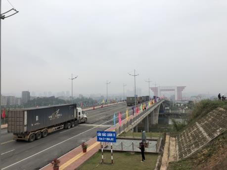 nCoV肺炎疫情:芒街国际口岸北仑河二桥重新开放 hinh anh 1