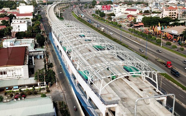 胡志明市槟城——仙泉地铁项目将于2021年底竣工 hinh anh 1