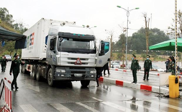 谅山省各地方口岸和边民互市将于2月10日重新开放 hinh anh 1