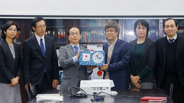 新型冠状病毒感染肺炎疫情:日本向越南提供更多生物 迅速且正确地发现2019-nCoV hinh anh 1