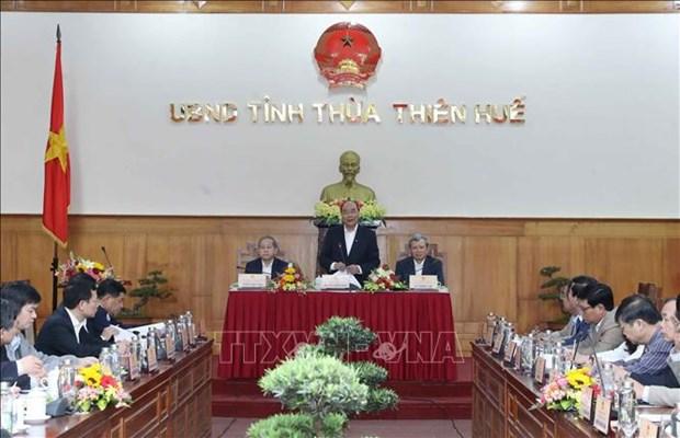 政府总理阮春福:今后承天顺化省需要进一步全面发展 hinh anh 1