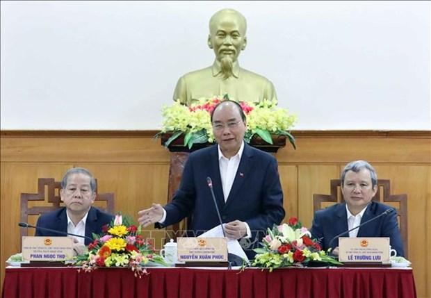 政府总理阮春福:今后承天顺化省需要进一步全面发展 hinh anh 2