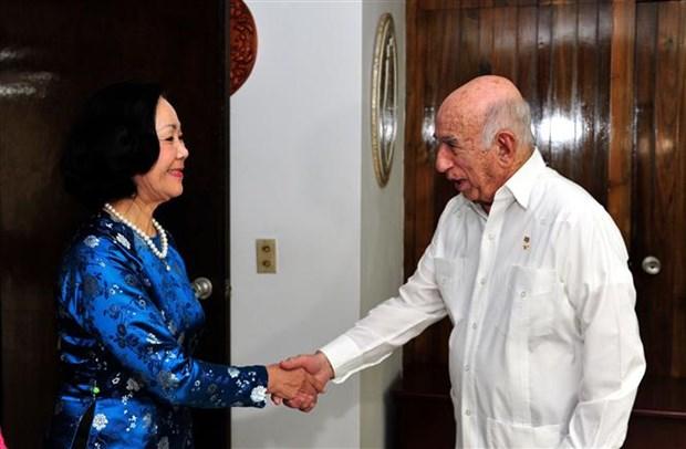 越南共产党高级代表团对古巴进行工作访问 hinh anh 2
