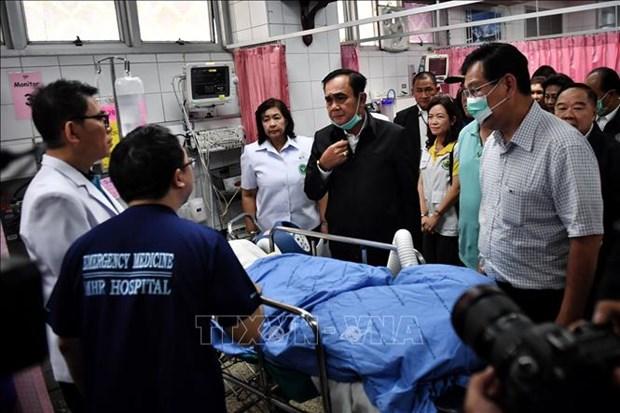 泰国总理巴育:枪击案造成26人丧生和52人受伤 hinh anh 1