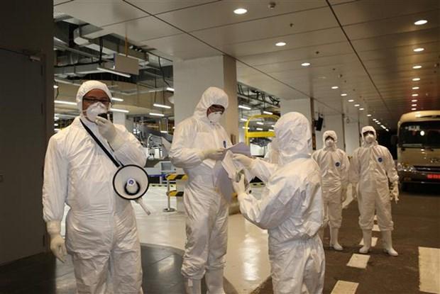 新冠肺炎疫情:30名越南公民安全回国 hinh anh 2