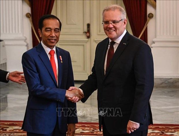 澳大利亚与印度尼西亚强调了1982年《联合国海洋法公约》在解决海上争端的重要性 hinh anh 1