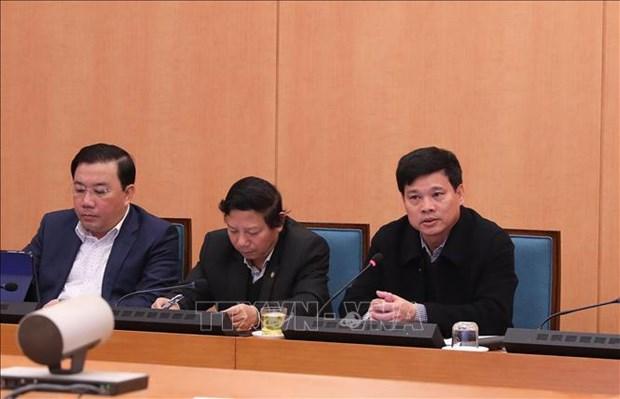 截至2月10日河内尚未发现新冠病毒感染肺炎病例 hinh anh 1