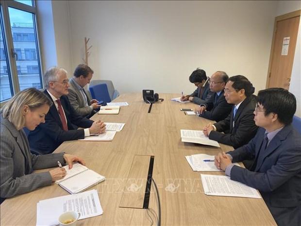 欧洲议会议长萨索利支持加强越欧全面合作关系 hinh anh 1