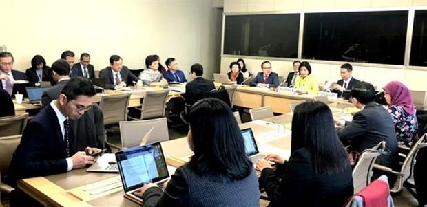 越南主持东盟协调委员会有关世贸组织事务的会议 hinh anh 1