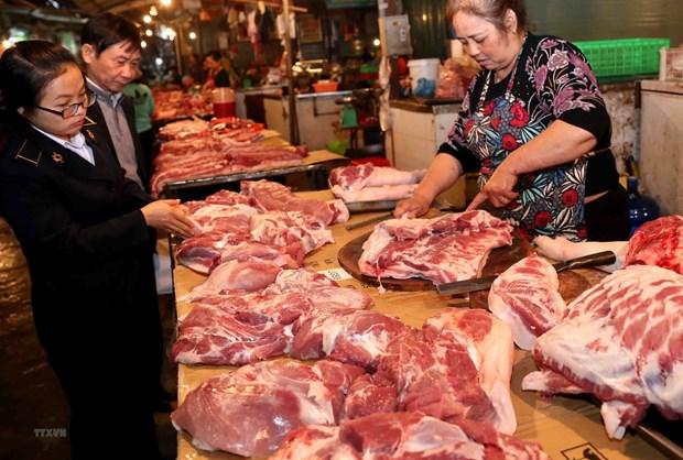农业与农村发展部:从本月起猪肉供应量回升 hinh anh 1