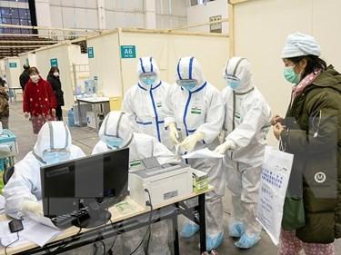 美国向老挝供医疗设备协助新型肺炎疫情提防控工作 hinh anh 1