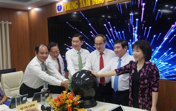 胡志明市医疗和教育两个智能指导中心正式启动运行 hinh anh 2