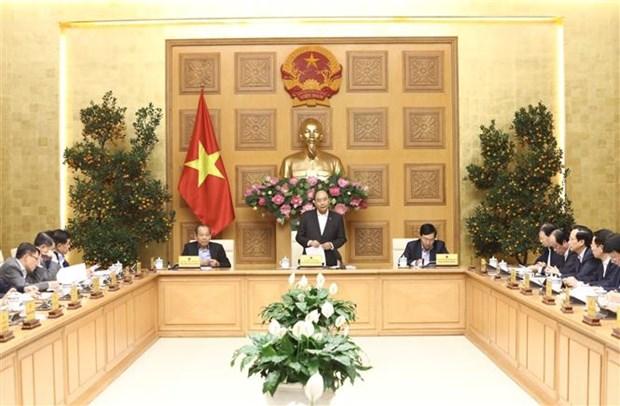 阮春福总理:同时开展新冠肺炎防控及经济社会发展两项任务 hinh anh 1