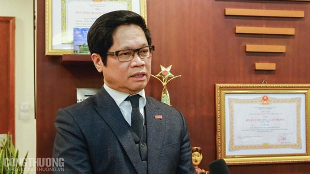 越南工商会主席:EVFTA-促进价值链转移的黄金契机 hinh anh 1