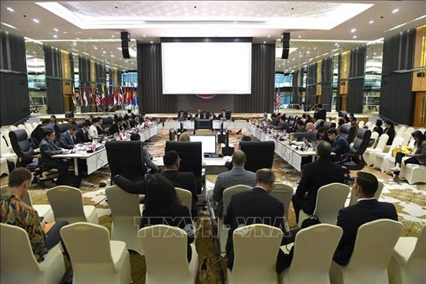 2020年东盟主席年:美国重视与东盟的合作 hinh anh 1