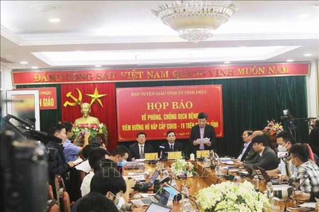 关于越南永福省COVID-19的报道 hinh anh 1