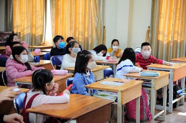 新冠肺炎疫情:教育培训部提议全国各级各类学校2月底前暂不开学 hinh anh 1