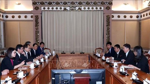 胡志明市加强与日本和歌山县的合作 hinh anh 1