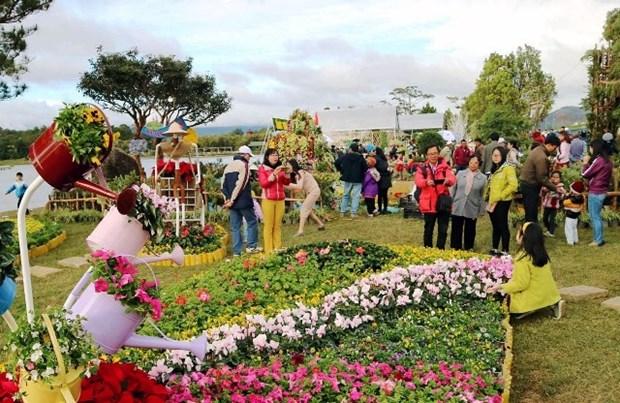 越南林同省寻求措施 促进旅游业的发展 hinh anh 1