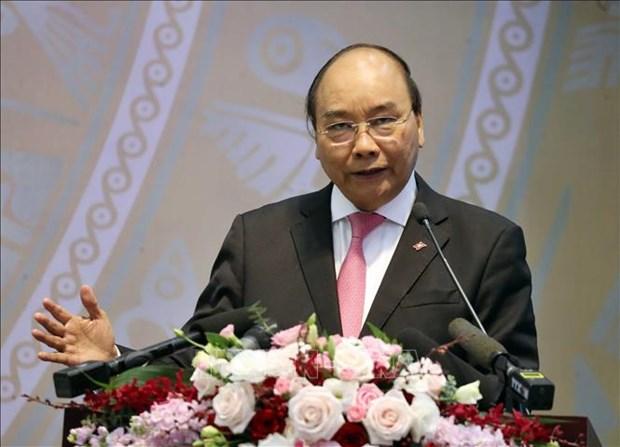越南政府总理阮春福:社保改革既有紧迫性,又有长期性 hinh anh 2