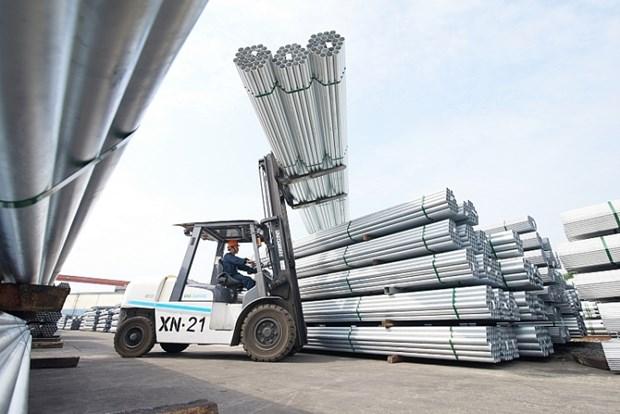 和发集团力争实现2020年建筑钢材出口量达40万吨的目标 hinh anh 2