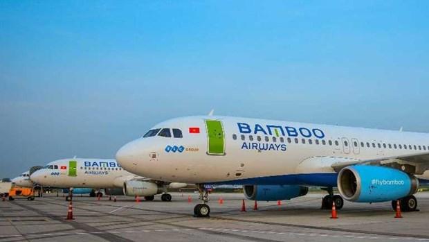 越竹航空开通多条国际和国内航线 hinh anh 1