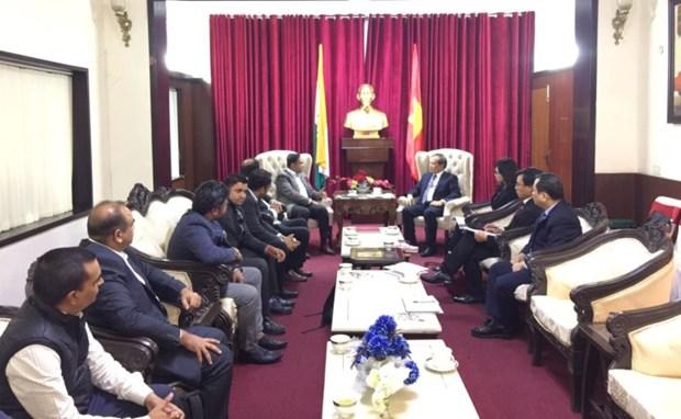 越南与印度加强贸易合作 解决农水产品出口面临的困难 hinh anh 1