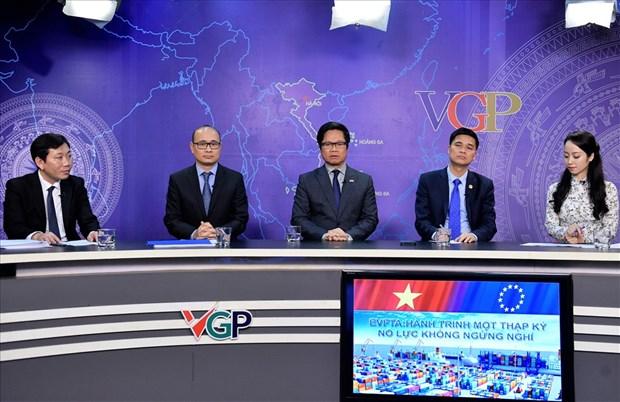 EVFTA—越南企业走进广阔市场的大好机会 hinh anh 1