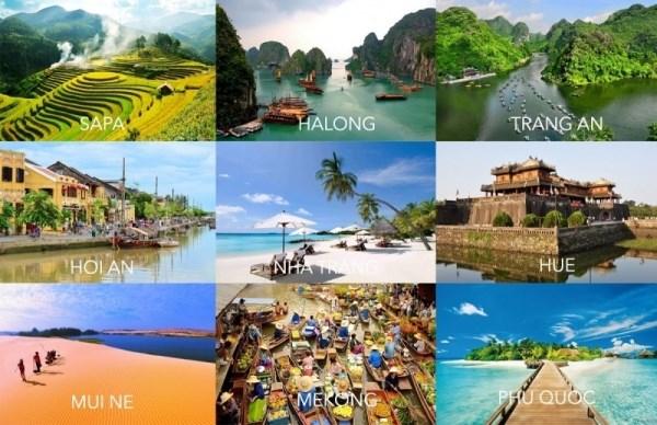 越南力争在2030年打造以旅游为拳头产业的综合经济链 hinh anh 1