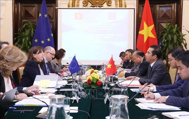 越南与欧盟寻找措施深化双边合作 hinh anh 1