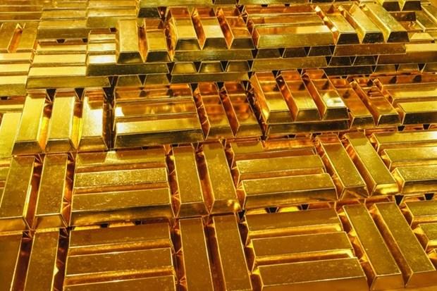 2月18日越南国内黄金价格超过4450万越盾 hinh anh 1