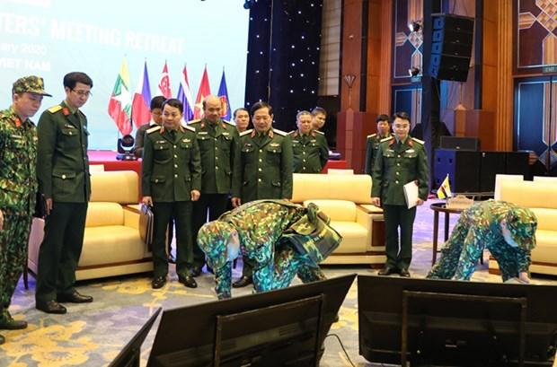 越南将确保举办东盟防长非正式会议的安全 hinh anh 1