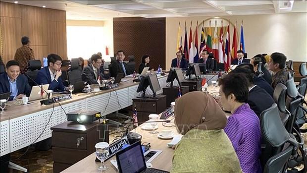 2020东盟轮值主席年:越南主持东盟互联互通协调委员会会议 hinh anh 1