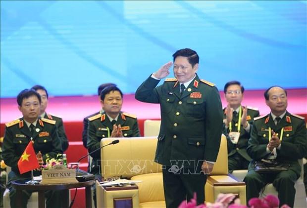 2020东盟轮值主席年:吴春历大将会见东盟秘书长林玉辉 hinh anh 1