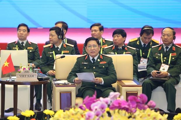 2020东盟轮值主席年:东盟防长非正式会议在河内召开 hinh anh 2
