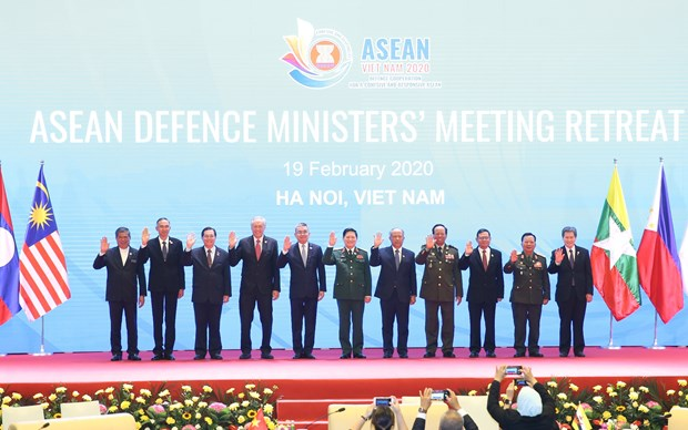 2020东盟轮值主席年:东盟防长非正式会议在河内召开 hinh anh 1
