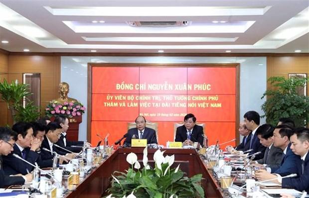 阮春福:越南之声广播电台应加速信息技术应用 hinh anh 2