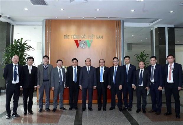 阮春福:越南之声广播电台应加速信息技术应用 hinh anh 1