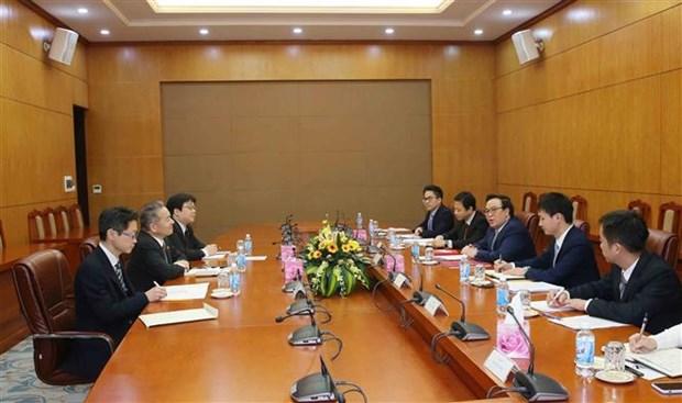 日本共产党代表团对越南进行工作访问 hinh anh 2