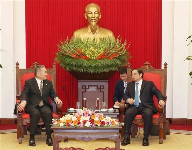 日本共产党代表团对越南进行工作访问 hinh anh 1